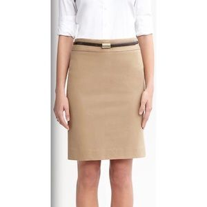 Banana Republic Sloan Pencil Skirt in Khaki 10